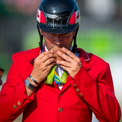 Eric Lamaze Wins Bronze Medal