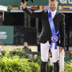 Eric Lamaze Grand Prix podium