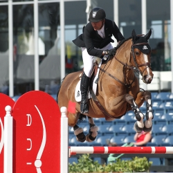 Eric Lamaze and Fine Lady 5