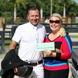 Eric Lamaze and Jennifer Ward