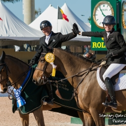 Tiffany Foster and Eric Lamaze