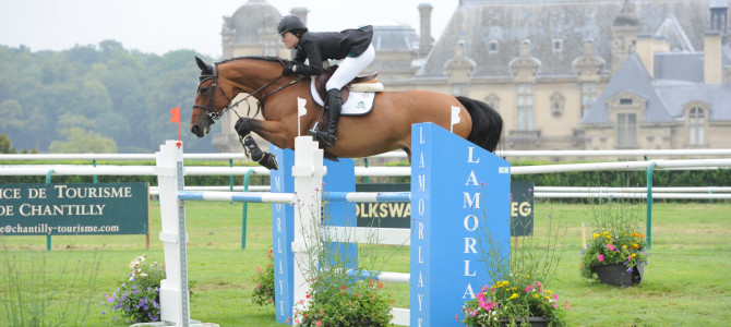 Caitlin Ziegler and Tiffany Foster Claim Wins in Chantilly