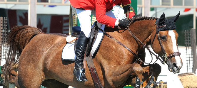 Eric Lamaze Guides the Way at Spruce Meadows