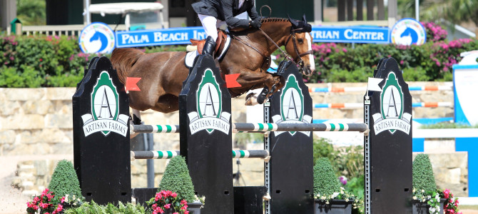 Olympic Champion Eric Lamaze Scores Victory in Florida