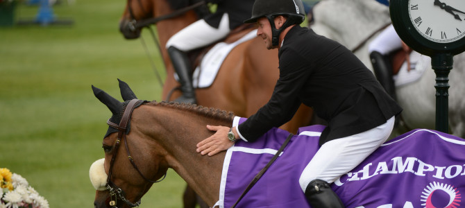 Olympic Champion Eric Lamaze Scores at Spruce Meadows