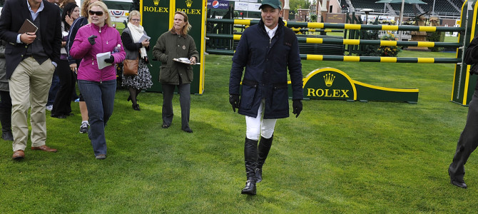 "Eric Lamaze Welcomes Guests on Spruce Meadows ""Masters"" Opening Day"