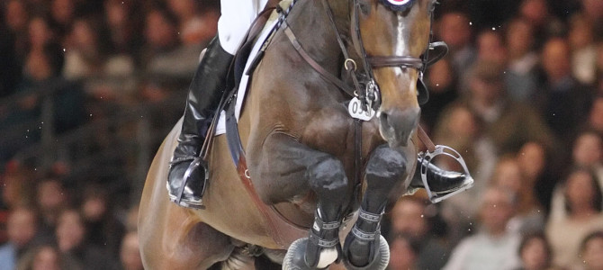 Eric Lamaze Finishes Fourth in Rolex Top 10 Final in Brussels