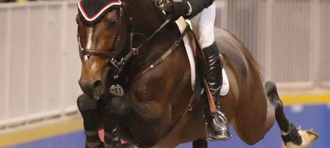 Olympic Champion Eric Lamaze Wins World Cup Grand Prix in Toronto