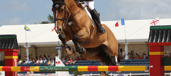 Olympic Champion Eric Lamaze Opens Strong in Spain