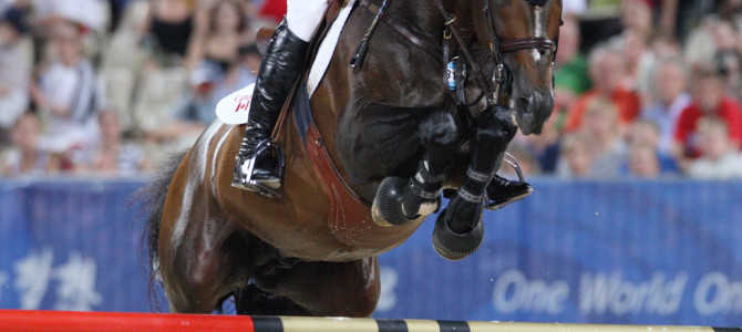 Olympic Champion Eric Lamaze Wins Grand Prix of Caen, France