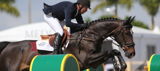 Eric Lamaze Claims $50,000 WEF Challenge Cup