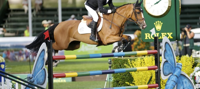 "Eric Lamaze Opens Spruce Meadows ""Masters"" with a Win"