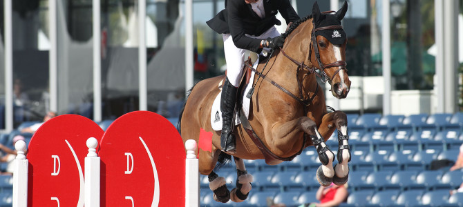 Eric Lamaze Scores Fourth Consecutive WEF Challenge Cup Win