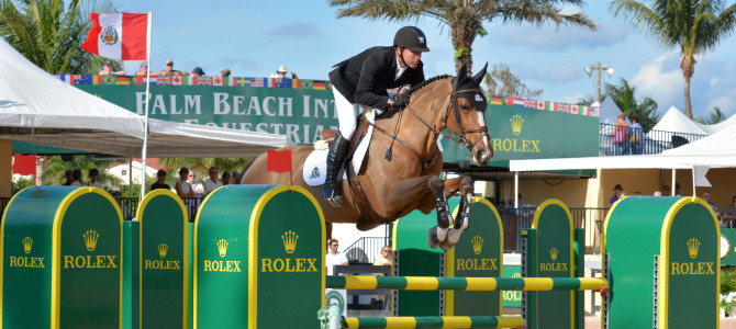 Eric Lamaze Wins Third Consecutive WEF Challenge Cup