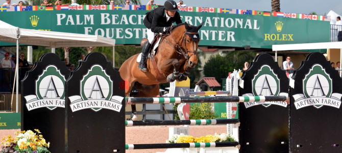 Eric Lamaze Goes Two for Two in $34,000 WEF Challenge Cup Series