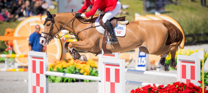 Canadian Show Jumping Team Ties for Third in Florida Nations' Cup