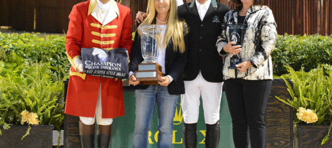 Artisan Farms Recognized at 2015 Winter Equestrian Festival
