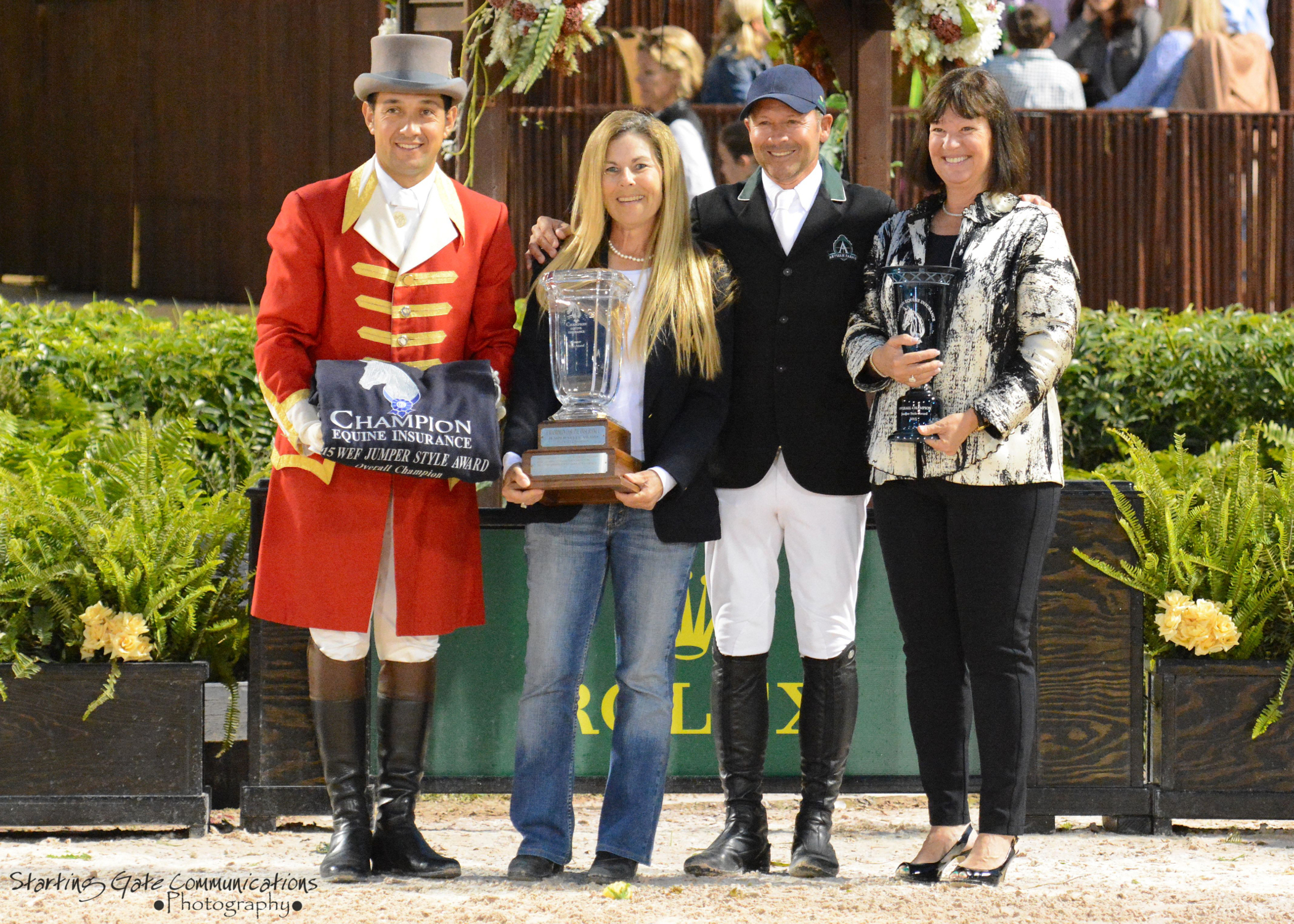 Artisan Farms Recognized At 2015 Winter Equestrian