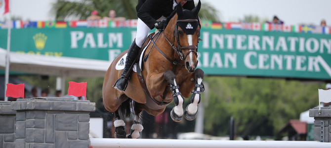 Record Fifth Win for Canada's Eric Lamaze in WEF Challenge Cup