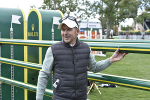 Canadian Olympic Champion and Rolex Testimonee Eric Lamaze at the Spruce Meadows 'Masters' tournament in Calgary, Alberta. Photo by Kit Houghton/Rolex