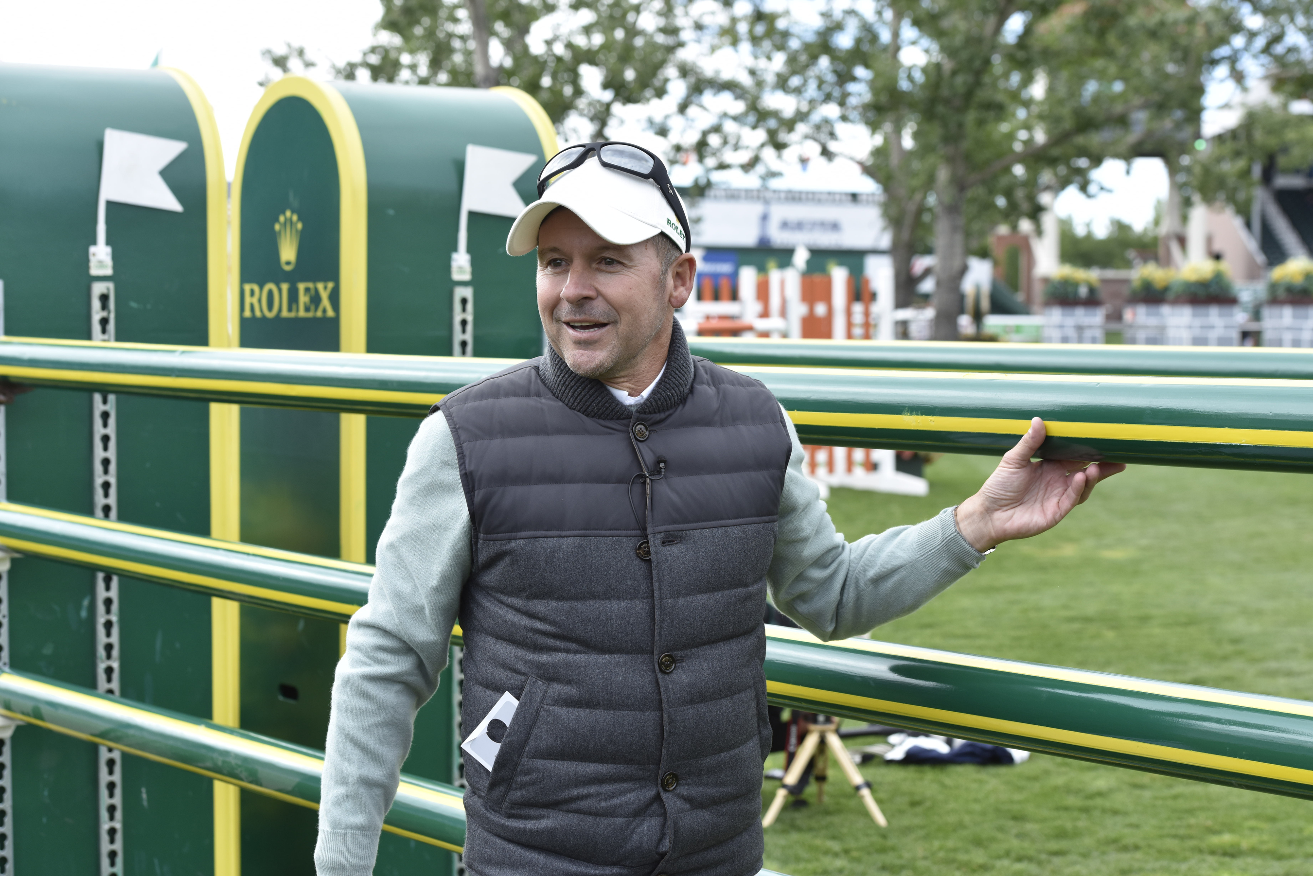 Eric Lamaze Gives 'Master' Class at Spruce Meadows