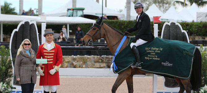 Eric Lamaze Scores Second Consecutive SSG Gloves Bonus at 2016 Winter Equestrian Festival
