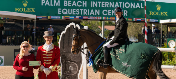Eric Lamaze Brings SSG Gloves Bonus Earnings to $12,000 at 2016 Winter Equestrian Festival