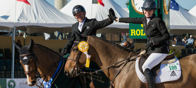 Eric Lamaze Dominates with Fourth WEF Challenge Cup Victory