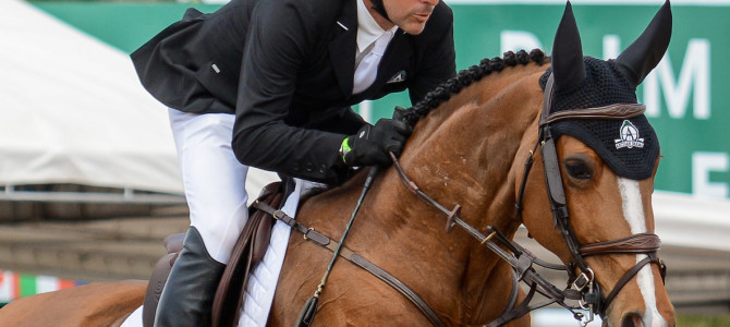 Eric Lamaze Flies to the Finish in France with Fine Lady 5