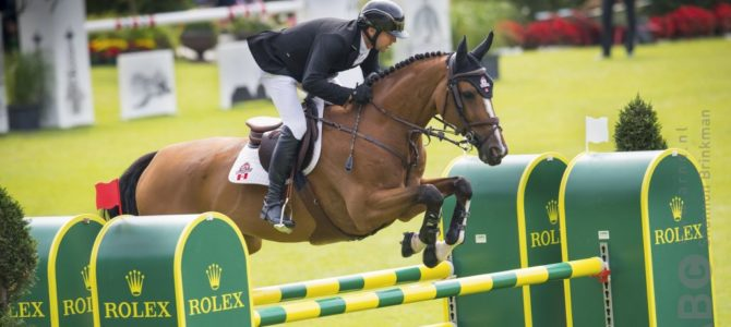 Eric Lamaze Wins Again in Aachen with Olympic Mount