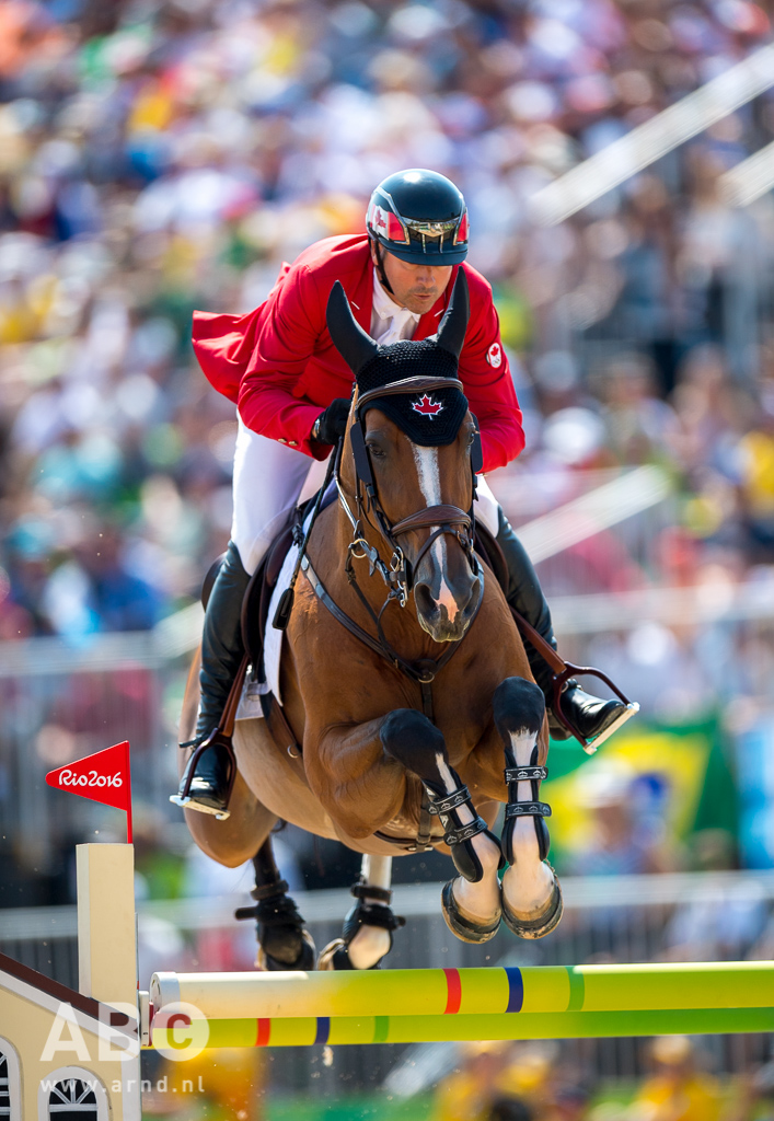 Eric Lamaze and Fine Lady 5, owned by Artisan Farms and Torrey Pines Stable, claimed the individual bronze medal for Canada at the 2016 Olympic Games in Rio de Janeiro, Brazil. Photo by Arnd Bronkhorst Photography