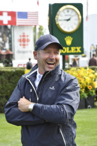2016 Olympic bronze medalist and Rolex Testimonee Eric Lamaze at the Spruce Meadows 'Masters' tournament in Calgary, Alberta, Canada.