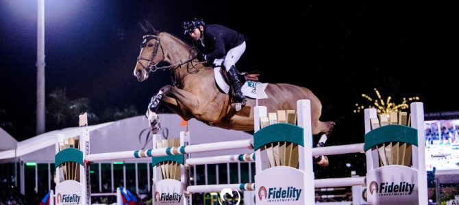 Eric Lamaze and Fine Lady 5 Win $130,000 Adequan Grand Prix