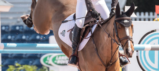 Eric Lamaze in Fine Form in Florida with Fine Lady 5
