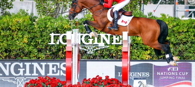 Canadian Show Jumping Team Faultless in Nations' Cup Final