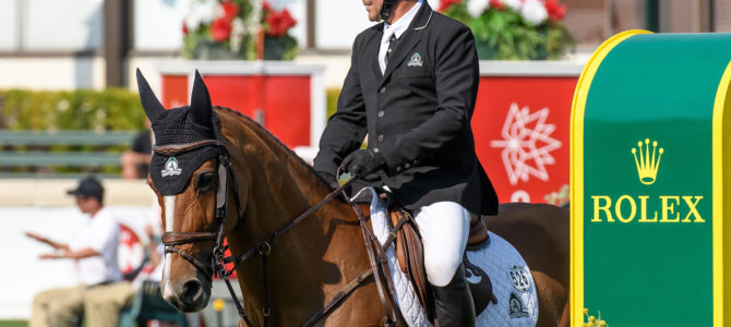 Eric Lamaze Ready for Rolex Grand Slam of Show Jumping