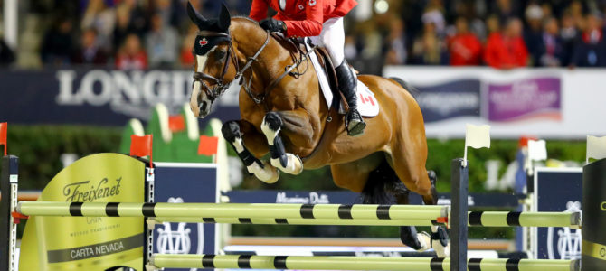 Canadian Show Jumping Team Eighth in Longines FEI Nations' Cup Final