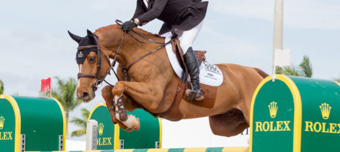 Back-to-Back WEF Challenge Cup Wins for Canada's Eric Lamaze